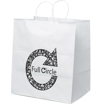 Take-Out Paper Tote Bags - Large