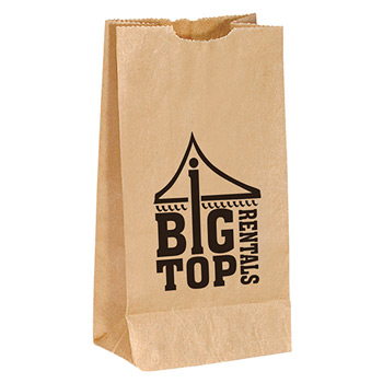 Tasty Treats Popcorn Bag 4.75W X 3D X 8.75H