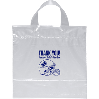 Clear Waters Plastic Bag 12W X 12H X 6D
