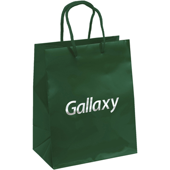 Retro Gloss Laminated Paper Tote Bags - Medium
