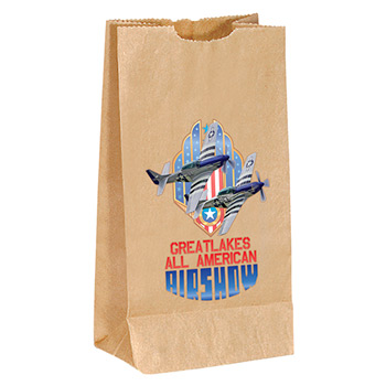 Popcorn Bag-White- Full Color