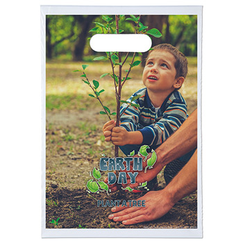 9 x 13 Oxo-Biodegradable Digital Full-Color Die Cut